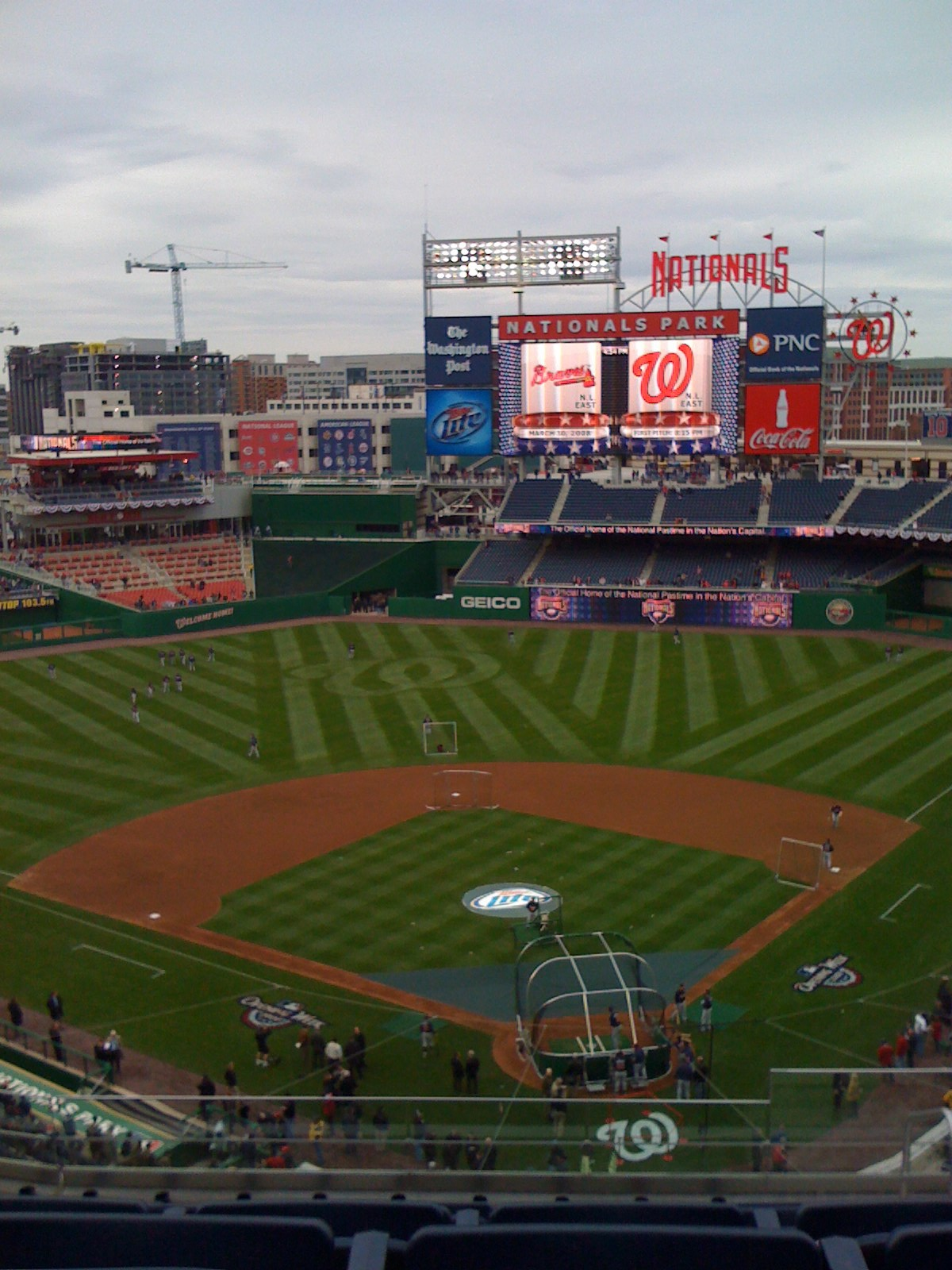 Nationals Park - BP
